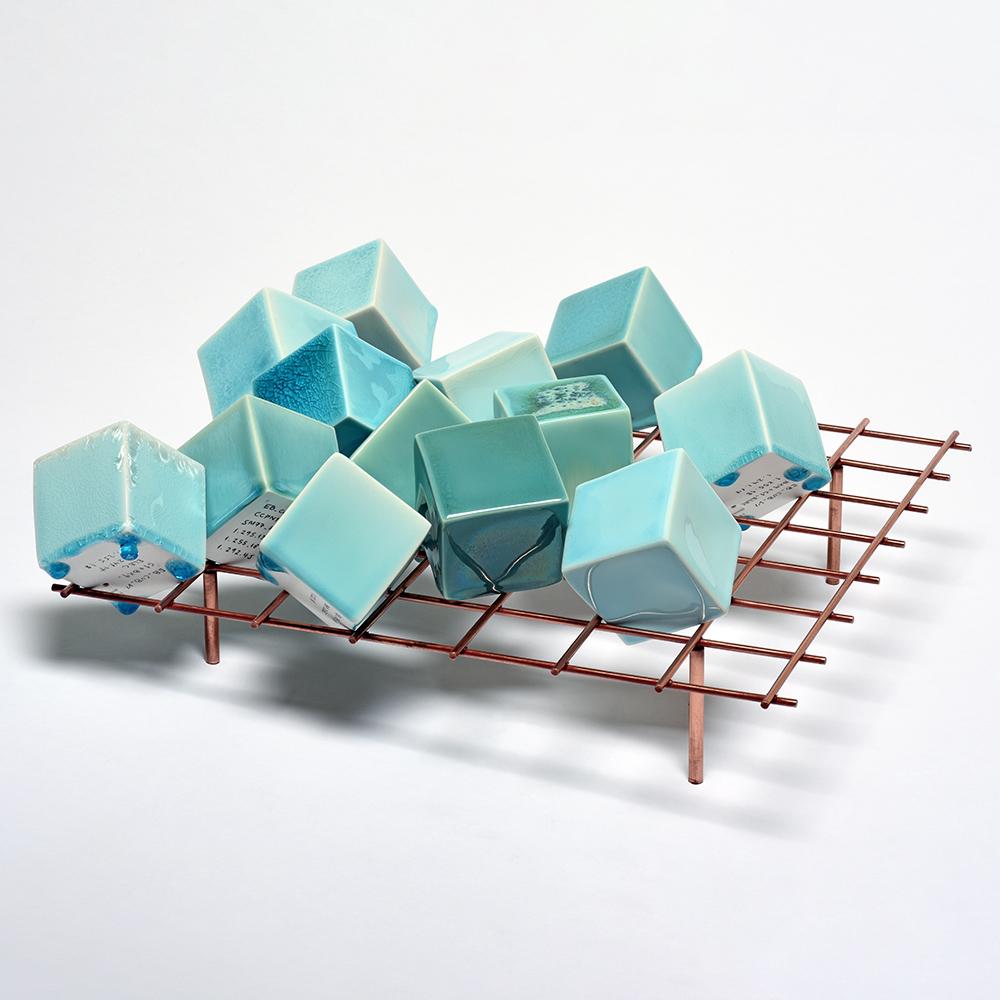"""Teil der Keramikserie """"Cubes"""" von emmanuel boss"""